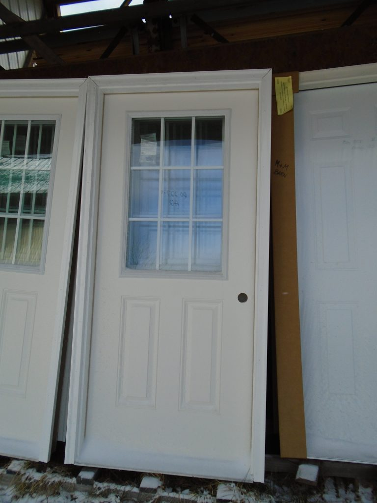 Exterior Entry Doors Pole Barn Supplies M Amp M Barn Sales
