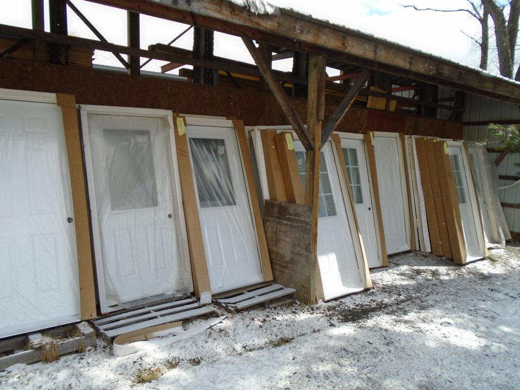 Exterior Entry Doors Pole Barn Supplies Mm Barn Sales