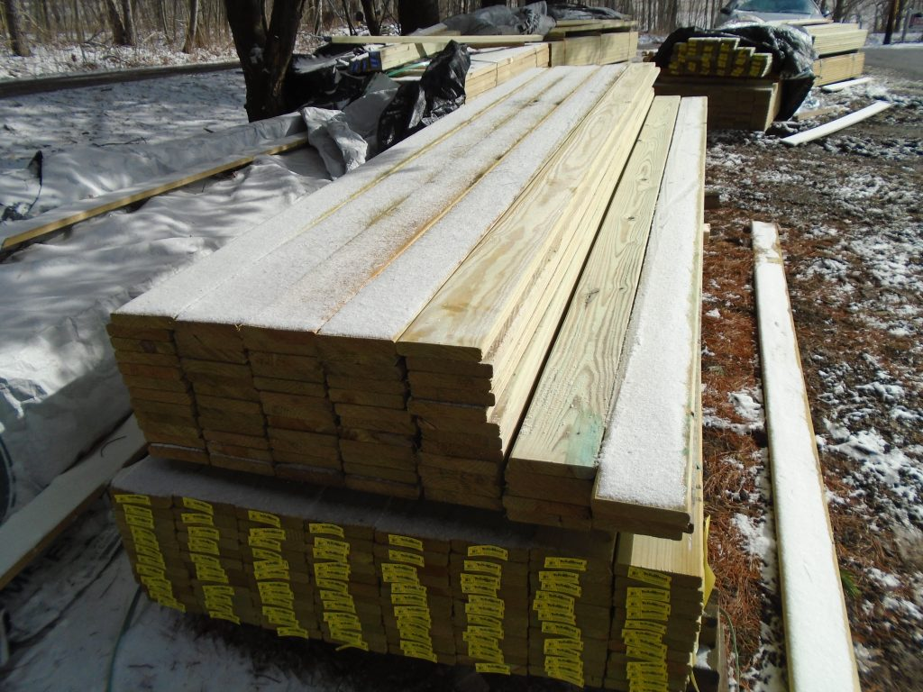 Pressure Treated Dimensional Lumber Pole Barn Supplies