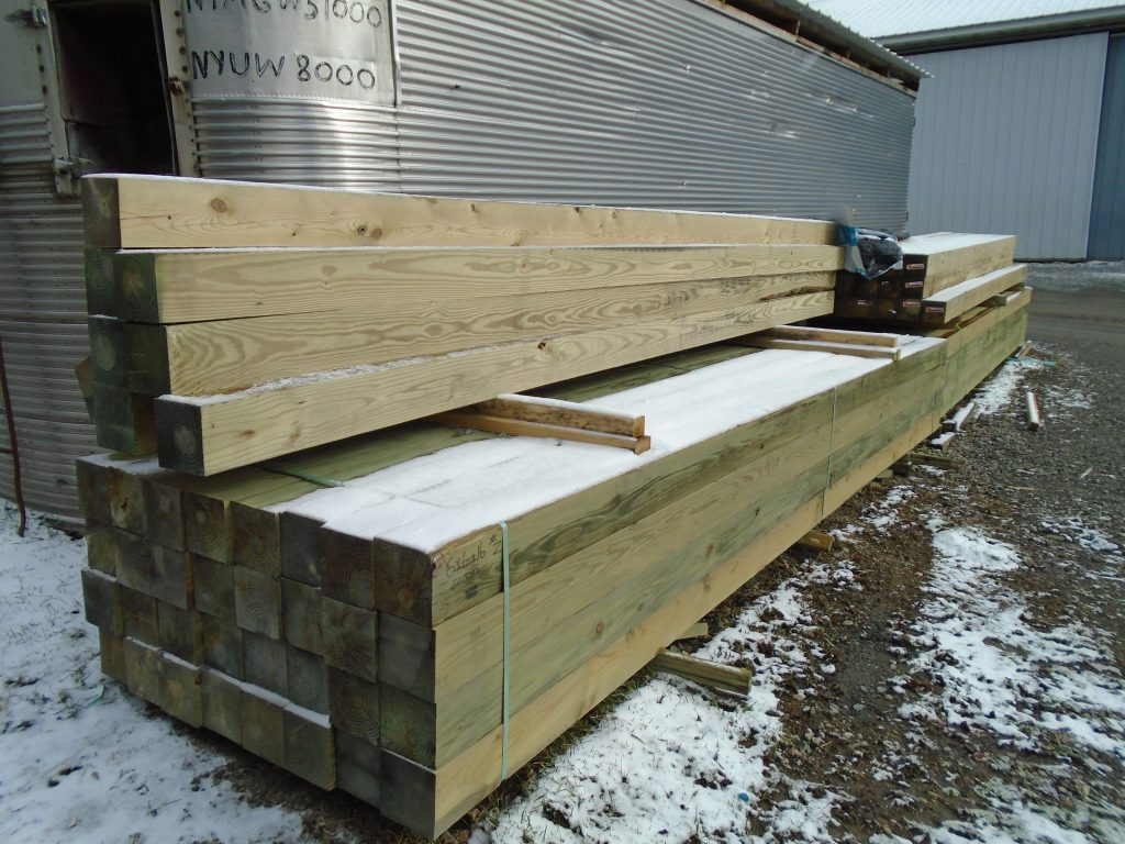 Pressure Treated Dimensional Lumber | Pole Barn Supplies